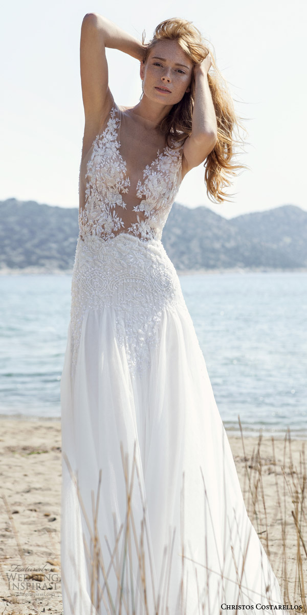 Christos Costarellos Spring 2016 Wedding Dresses | Wedding Inspirasi