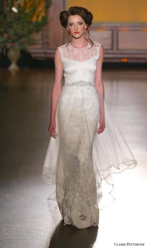Rose Gold Wedding Dress 89 Good claire pettibone fall bridal