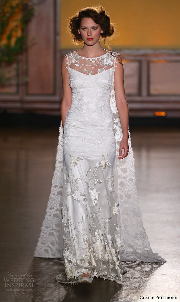 Claire pettibone fall 2016 wedding dresses the gilded for Wedding dress claire pettibone