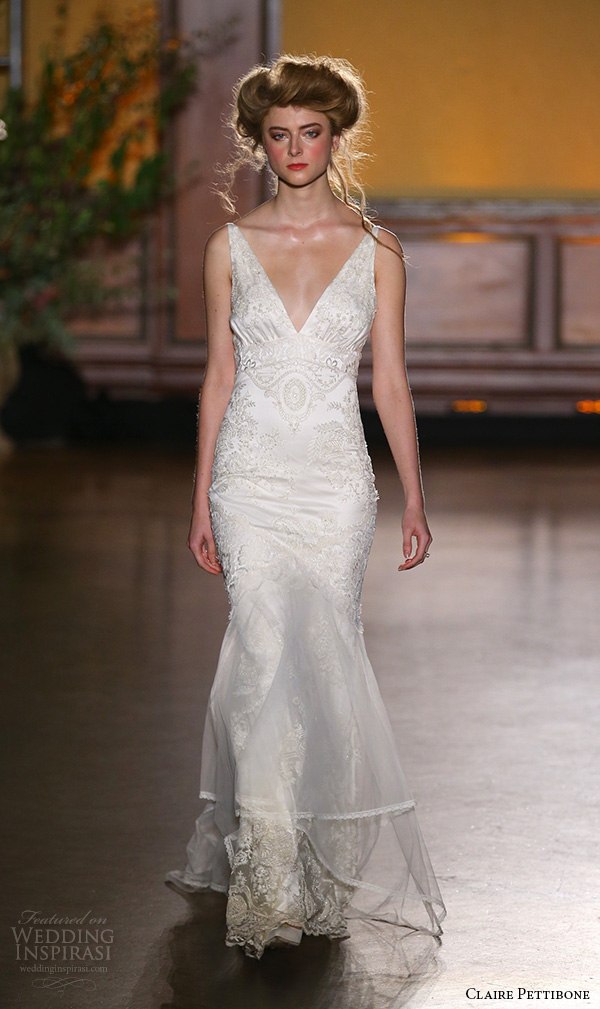 Fit And Flare Wedding Gowns 98 Amazing claire pettibone fall bridal