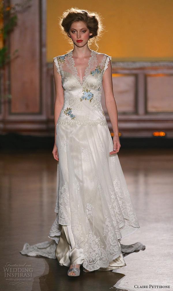 Claire Pettibone Fall 2016 Wedding Dresses The Gilded