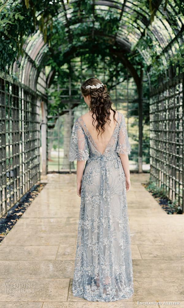 enchanted atelier liv hart fall 2016 bridal accessories annalise vine photo light blue wedding dress