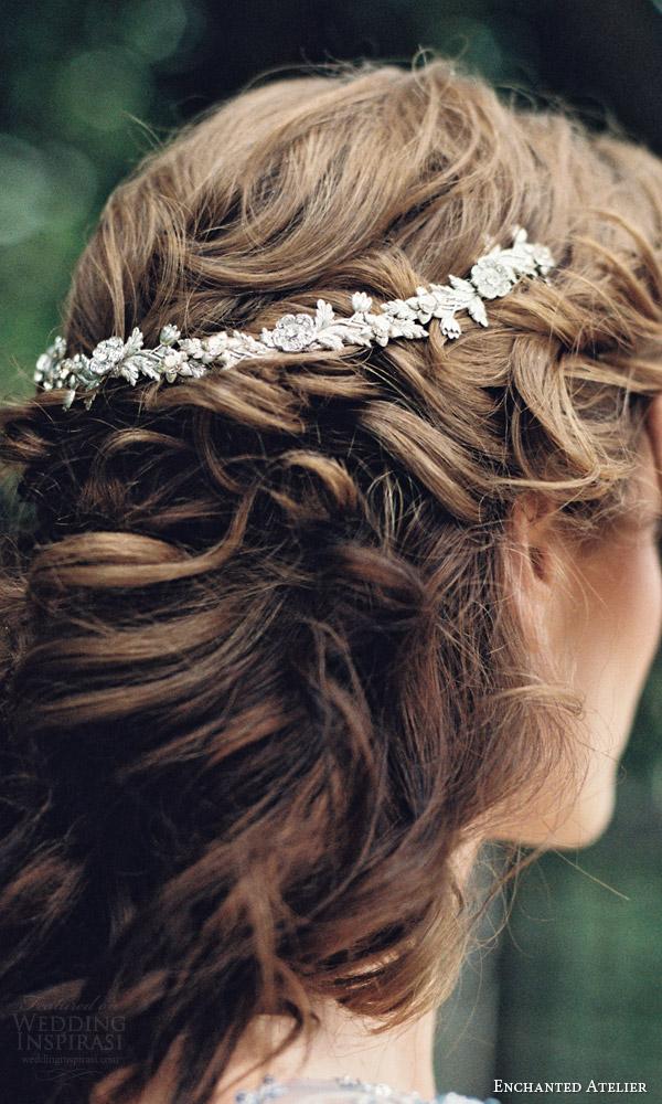 enchanted atelier liv hart fall 2016 bridal hair accessories jardin petite vine wedding hair close up