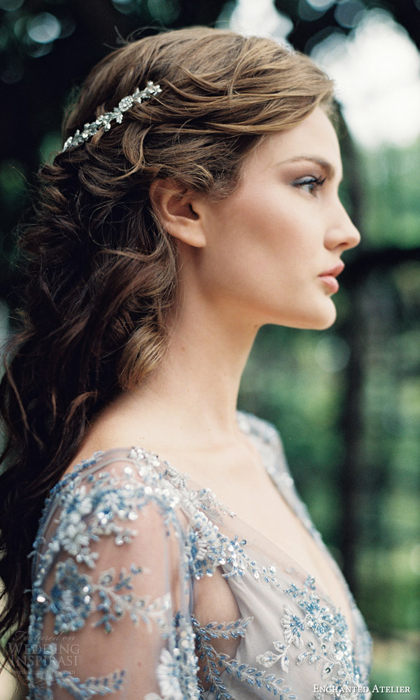 enchanted atelier liv hart fall 2016 bridal hair accessories jardin petite vine wedding hair