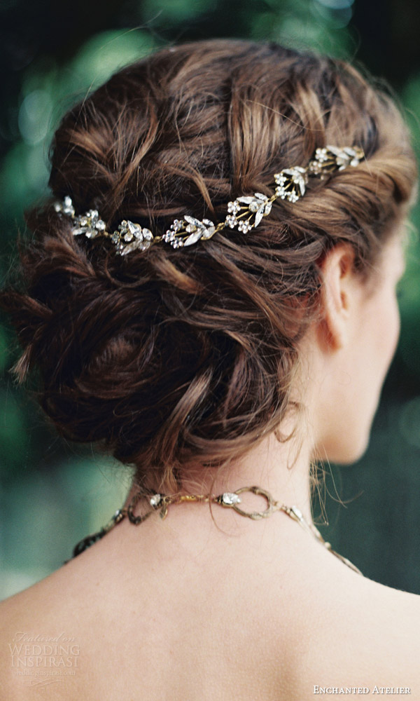 enchanted atelier liv hart fall 2016 bridal hair accessories lilies accessory
