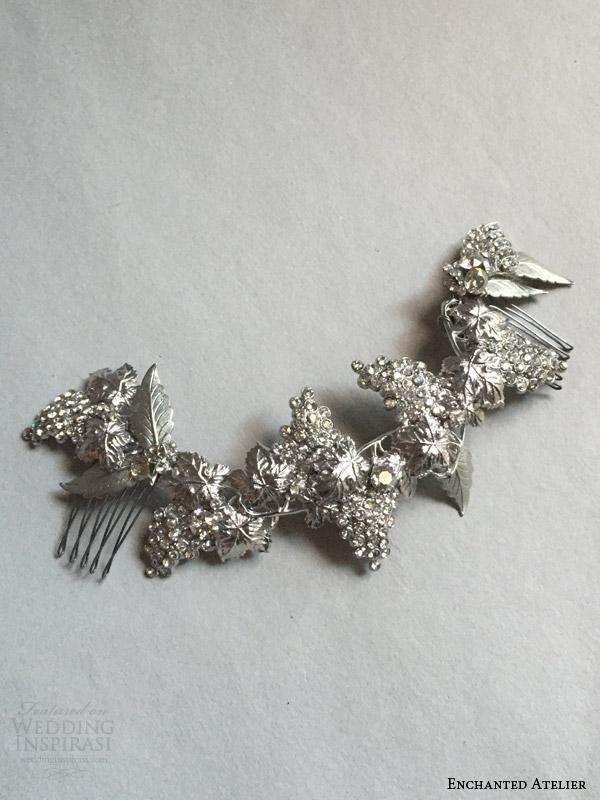enchanted atelier liv hart fall 2016 bridal hair accessories vineyard wedding comb