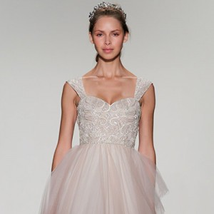 kelly faetanini fall 2016 bridal collection wedding dresses blush color shar 400