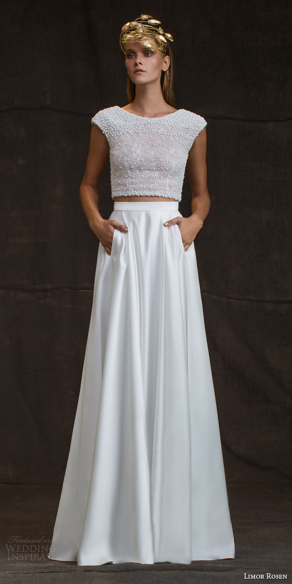 Beautiful 2016 wedding dress trends part 1 wedding inspirasi for Wedding dress skirt and top