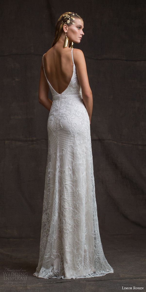 Limor rosen 2016 wedding dresses treasure bridal for Beaded low back wedding dress