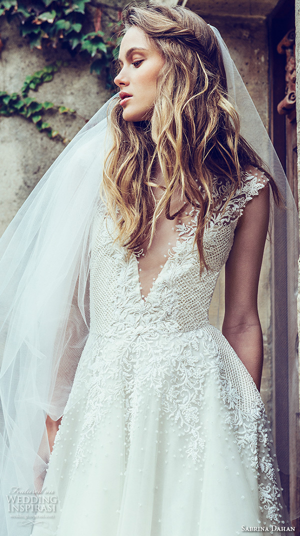 Sabrina Wedding Dress 35 Lovely sabrina dahan bridal fall