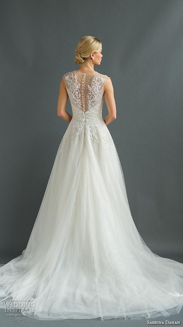 Sabrina Wedding Dress 45 Nice sabrina dahan bridal fall