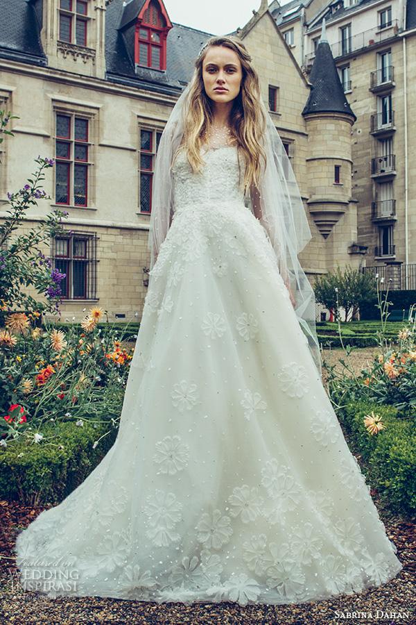 Sabrina Wedding Dress 4 Fabulous sabrina dahan bridal fall