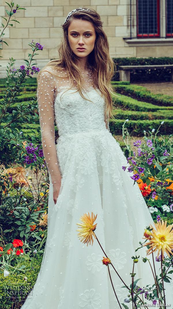 Sabrina Wedding Dress 27 Vintage sabrina dahan bridal fall