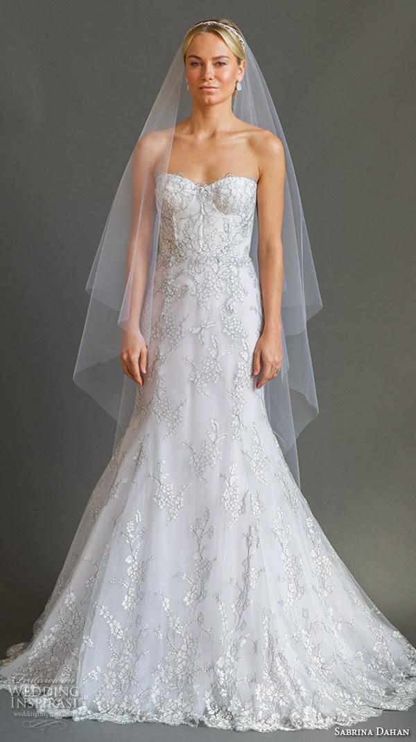 Sabrina dahan fall 2016 wedding dresses wedding inspirasi for Lace drop waist wedding dress