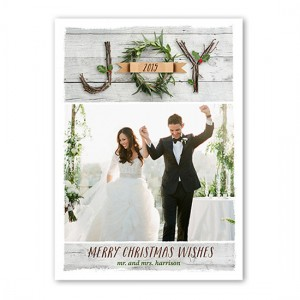 shutterfly just married joy christmas card holiday greeting howeholiday xmas