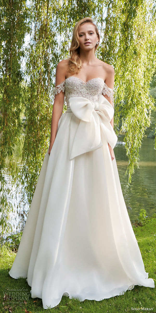 Solo merav 2016 wedding dresses interview with for A pretty wedding dress