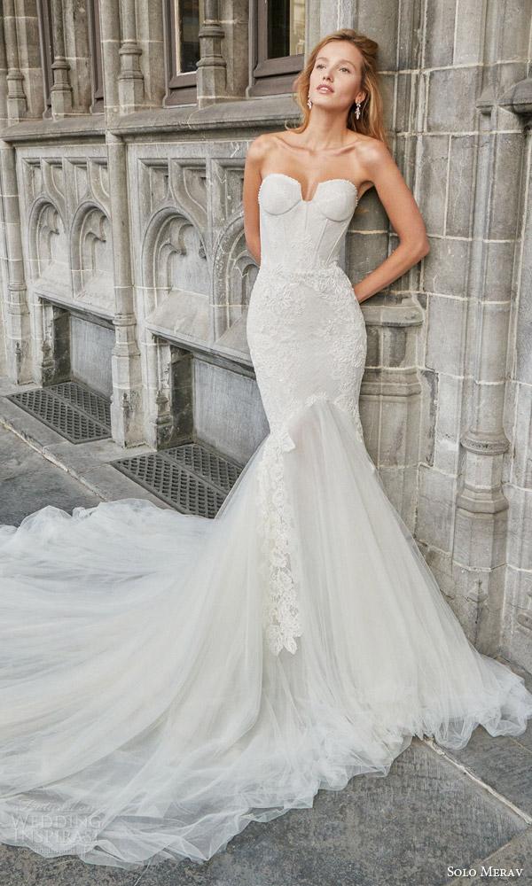 Solo Merav 2016 Wedding Dresses Bridalpulse,Navy Blue Wedding Dress Plus Size