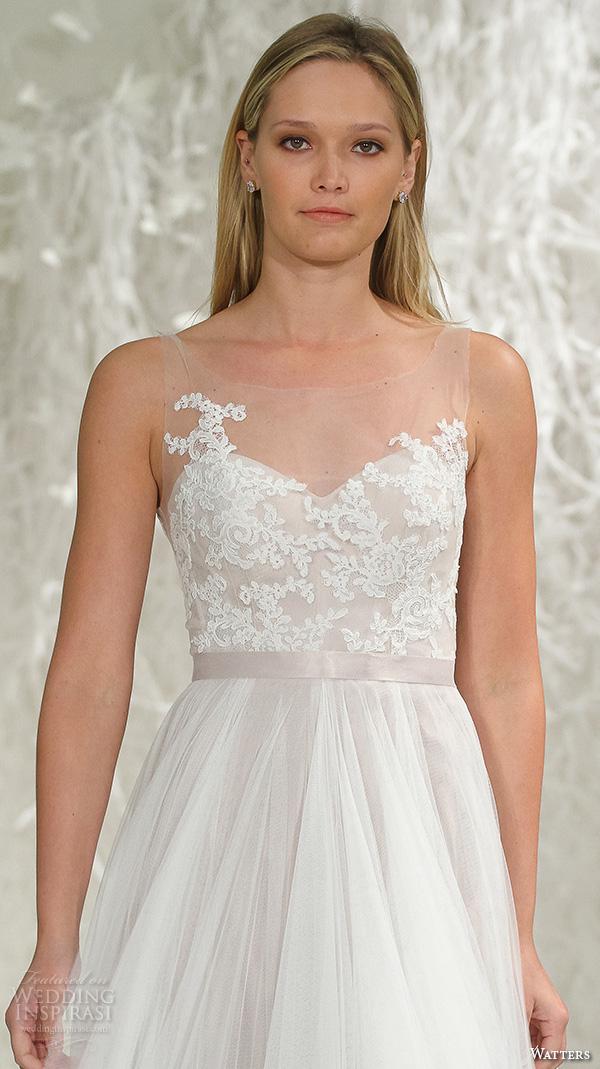 Watters Brides Spring 2016 Wedding Dresses - BridalPulse