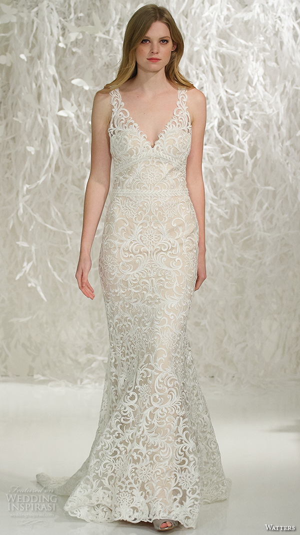 Watters brides spring 2016 wedding dresses wedding inspirasi for Wedding dresses in ga