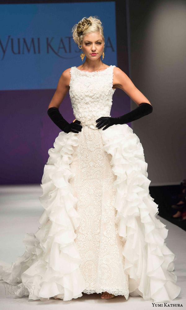 Butterfly Wedding Gown 32 Ideal yumi katsura bridal fall