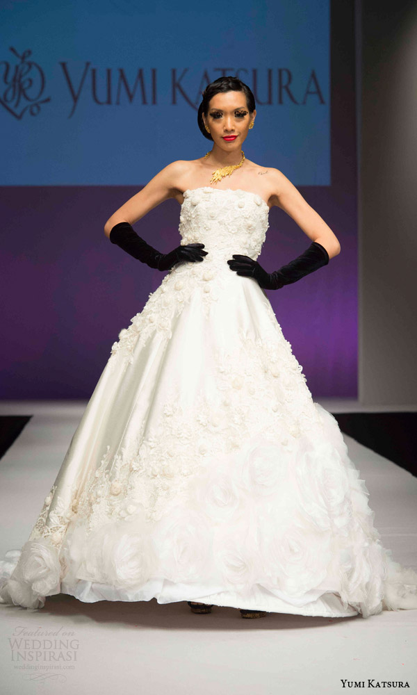 Wedding Anniversary Dresses 24 Inspirational yumi katsura bridal fall