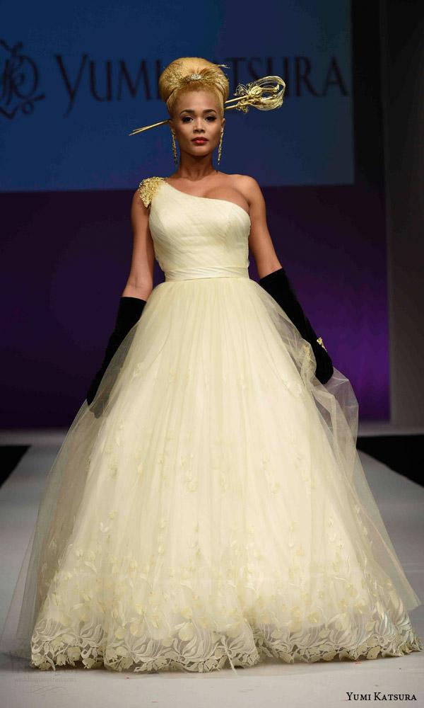 Yumi Katsura Fall 2016 Wedding Dresses 50th Anniversary