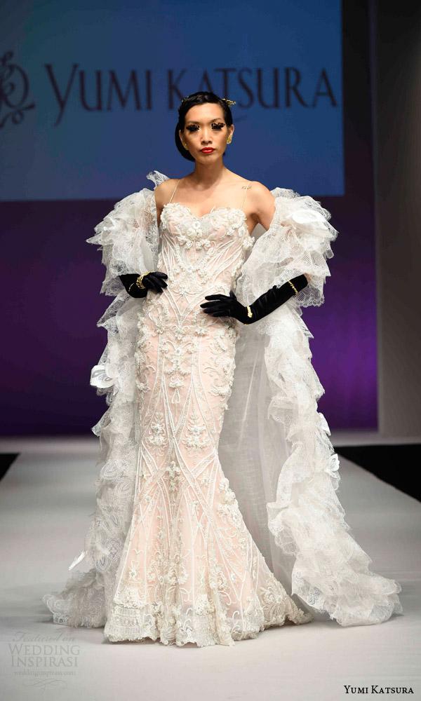 Wedding Dress Ruffle 95 Unique yumi katsura bridal fall
