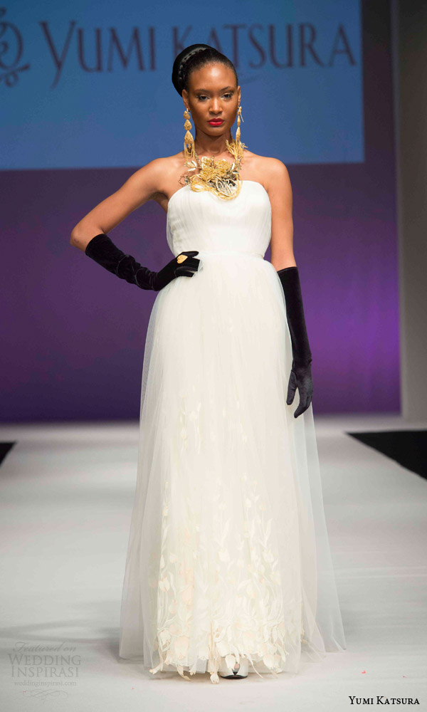 Wedding Gowns For Golden Wedding : Yumi katsura fall wedding dresses th anniversary