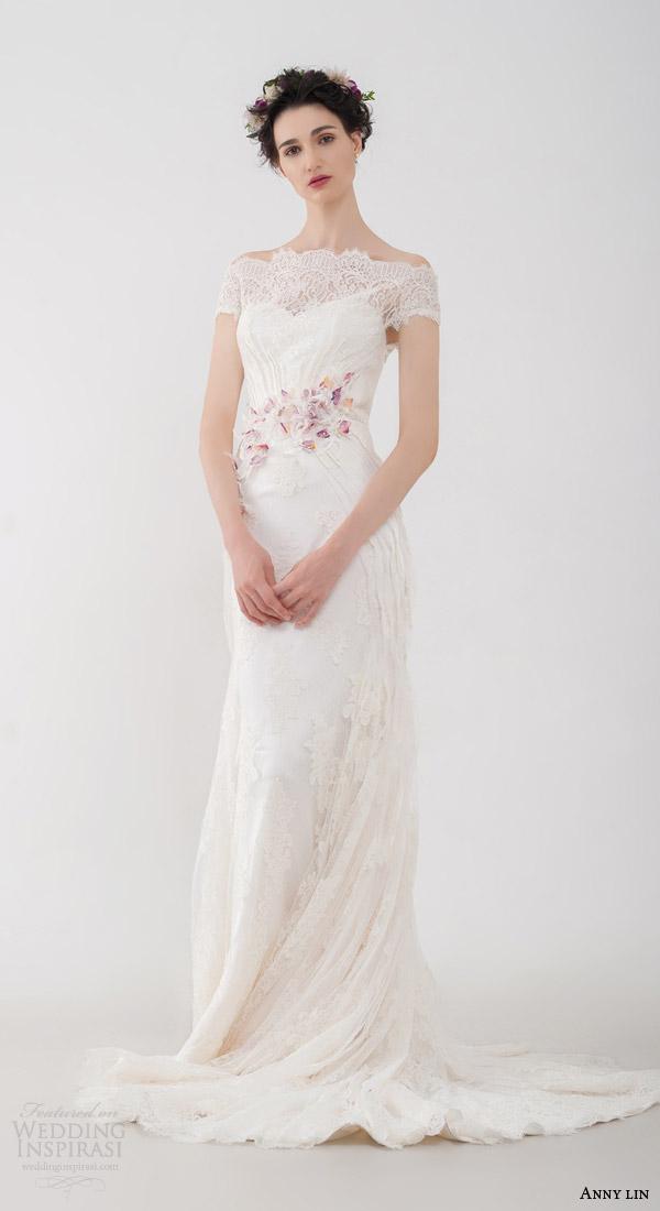 Short Off White Wedding Dresses 47 Simple anny lin bridal kalika