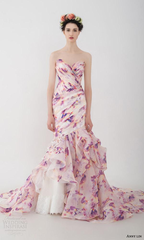Multi Colored Mermaid Dress