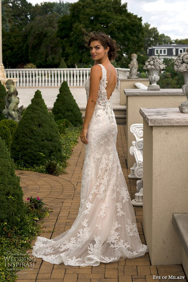lace back wedding dresses zoom sur of milady automne 2016 mode nuptiale 5358
