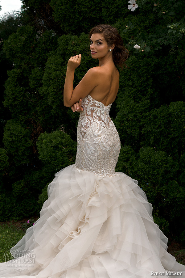 Stylish Eve Lace Wedding Dresses : Eve of milady spring wedding dresses inspirasi