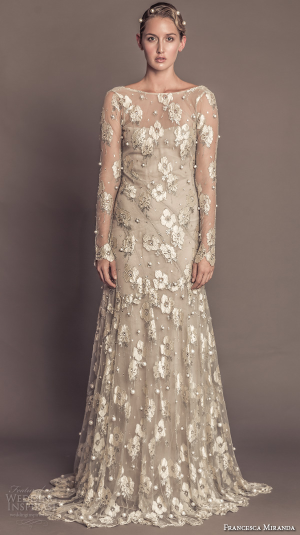 Wedding Dresses Guests 55 Lovely francesca miranda fall bridal