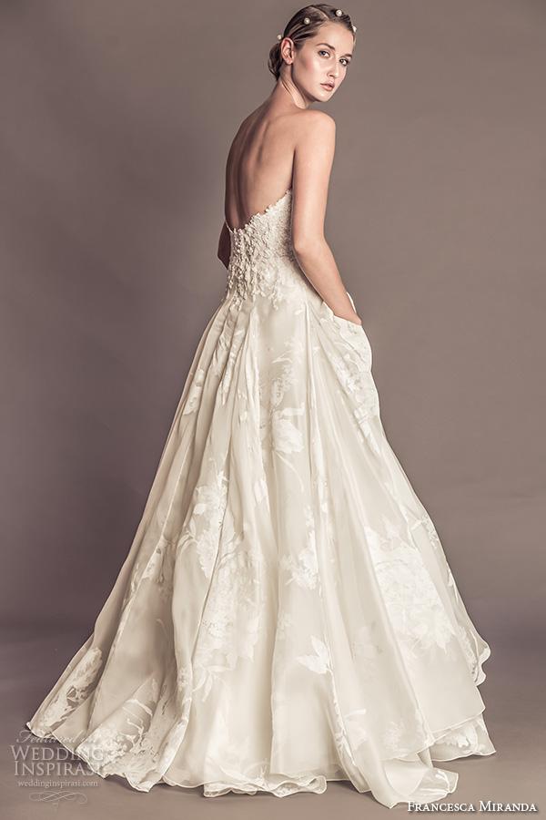 Floral Print Wedding Dresses 18 Marvelous francesca miranda fall bridal