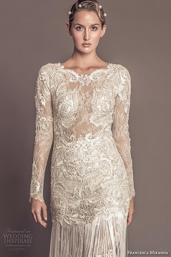 1920 Style Wedding Dresses 49 Epic francesca miranda fall bridal
