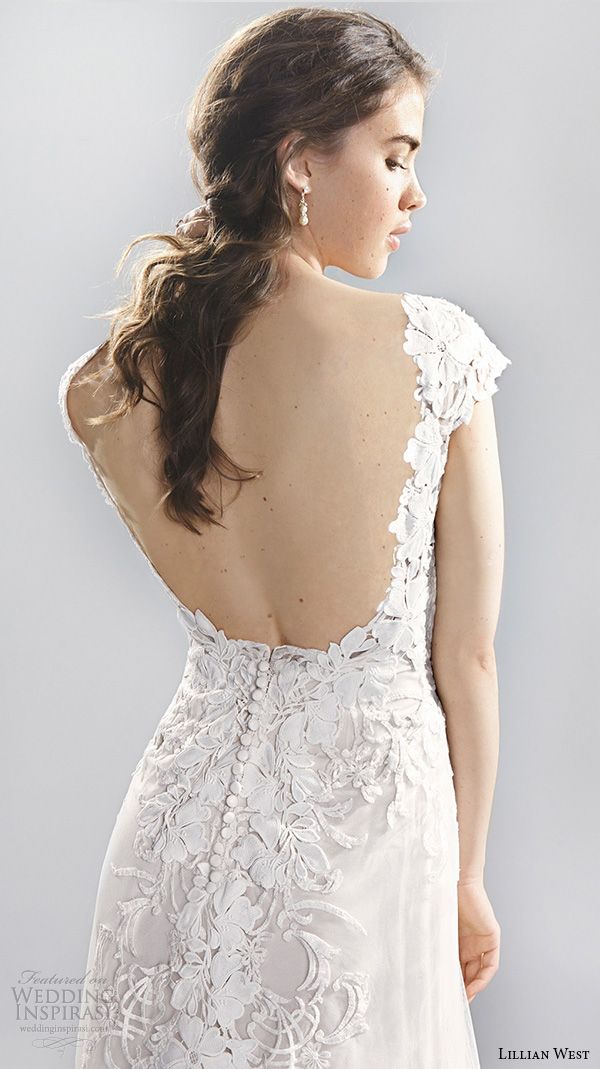 Wedding Dress Low Back Lace