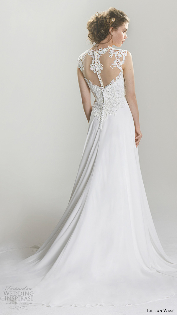Modified Mermaid Wedding Dress 31 Spectacular lillian west spring bridal