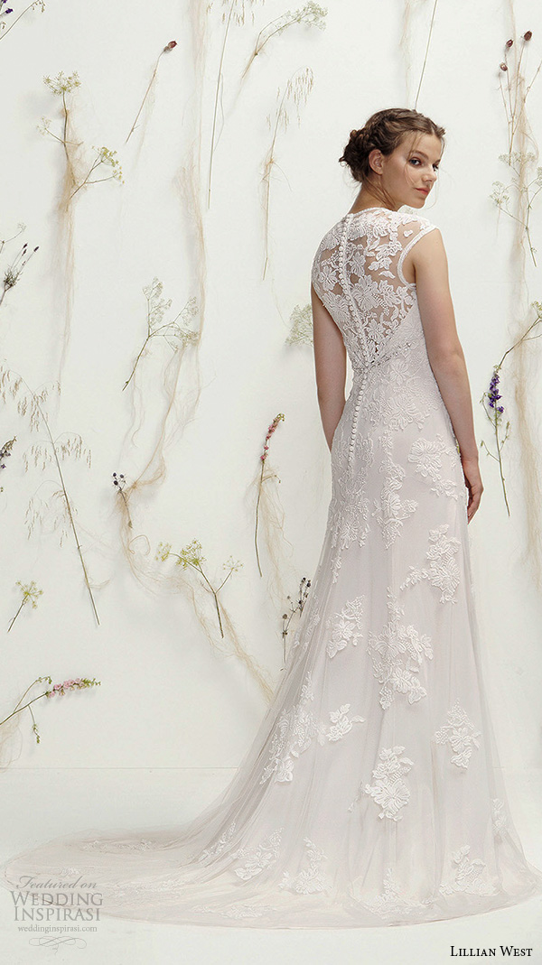 Modified Mermaid Wedding Dress 75 Nice lillian west spring bridal
