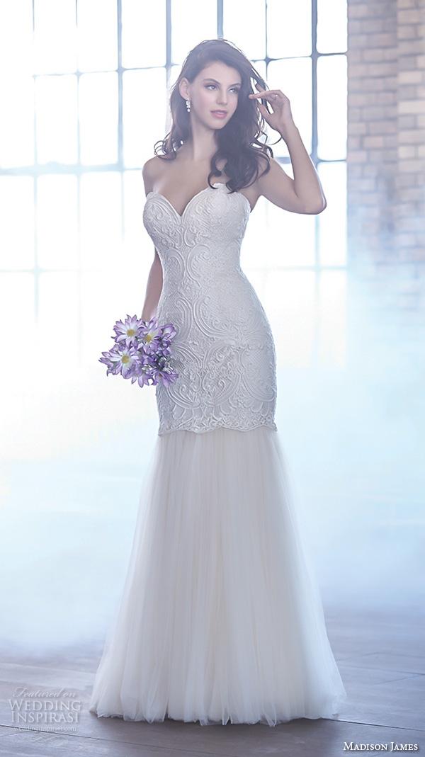 Halter Mermaid Wedding Dress 45 Beautiful madison james fall bridal