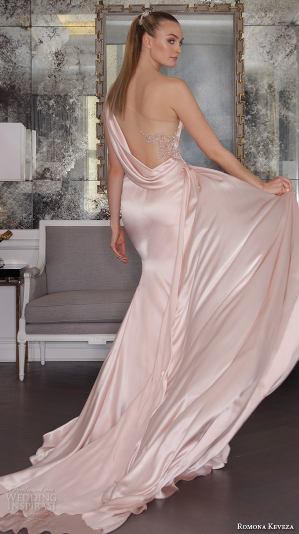 Romona keveza fall 2016 luxe bridal wedding dresses for Satin silk wedding dresses