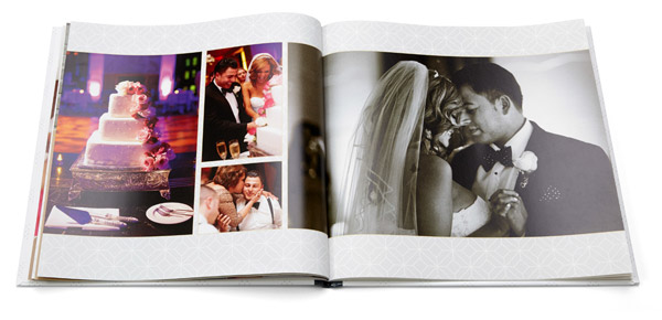 Shutterfly Make My Book Easy Affordable Professionally Designed Wedding Photo Page Layout