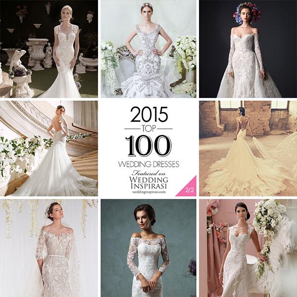 Popular Wedding Gowns: Top 100 Most Popular Wedding Dresses In 2015 Part 2