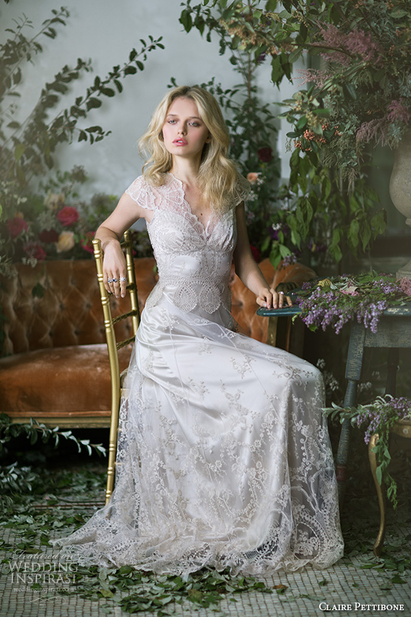 Claire pettibone fall 2016 couture wedding dresses the for Wedding dress claire pettibone