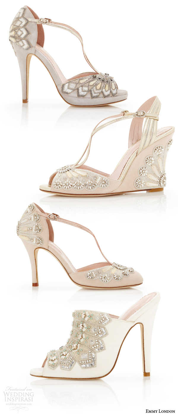 Emmy London Wedding Shoes Cancello Bridal Collection