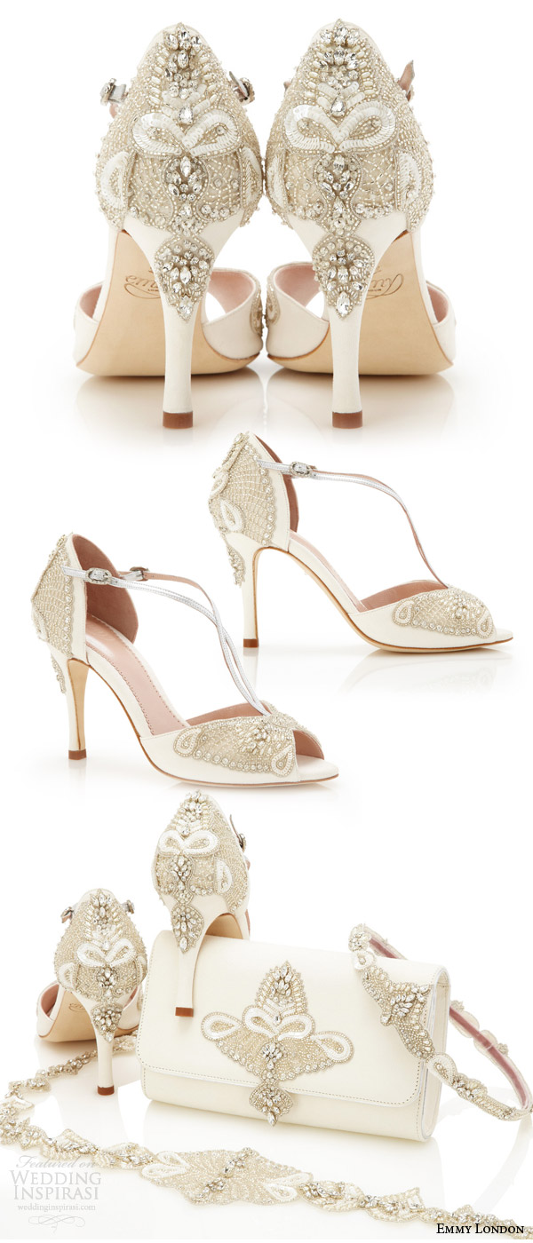 Wedding Shoes For Ivory Dress 32 Ideal emmy london gorgeous wedding