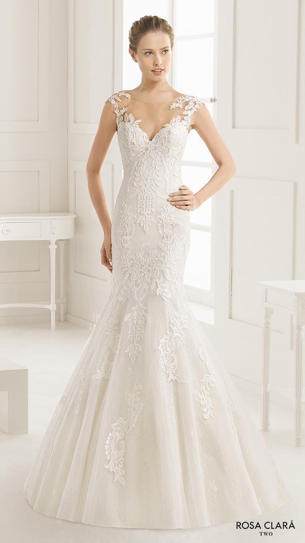 Elegant Trumpet Wedding Dress