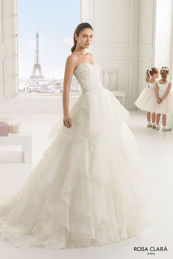 Rosa Clará Two 2016 Wedding Dresses | Wedding Inspirasi