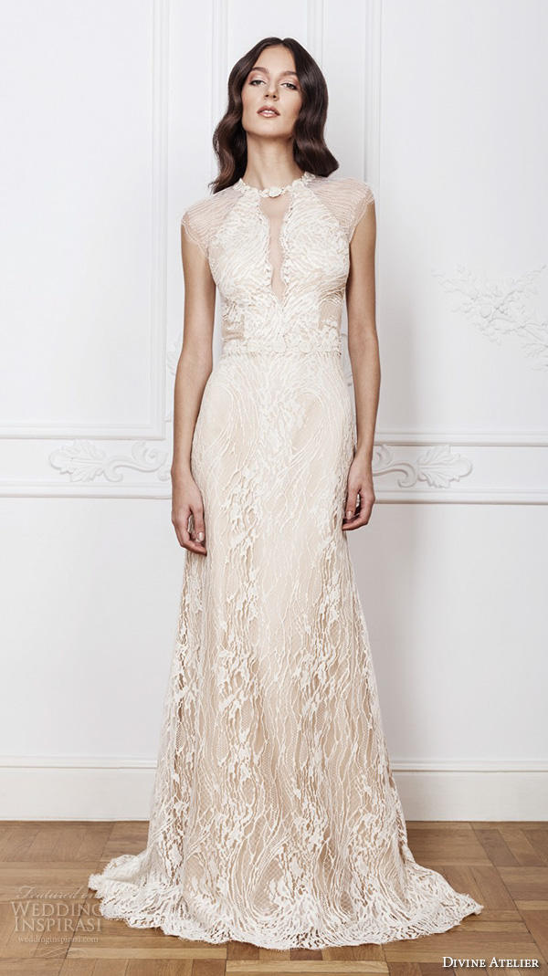 Divine atelier 2016 wedding dresses wedding inspirasi for Wedding dress detachable sleeves