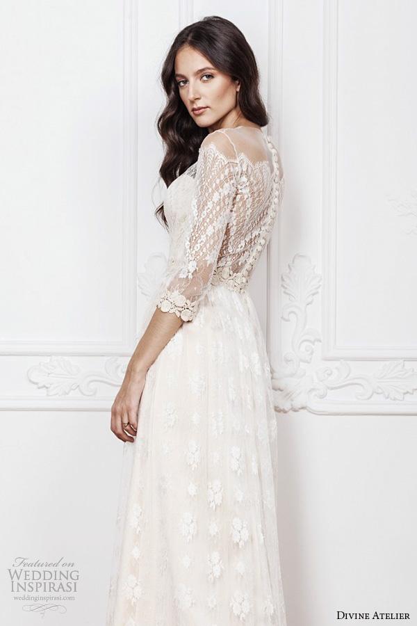 Off The Shoulder Sleeve Wedding Dress 43 Simple divine atelier bridal gowns