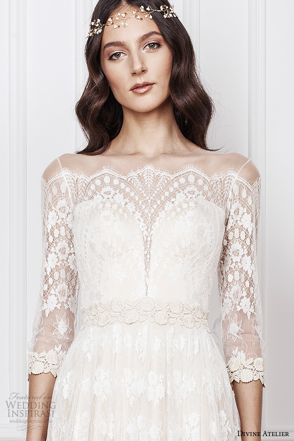 Bohemian Lace Wedding Dresses 62 Awesome divine atelier bridal gowns